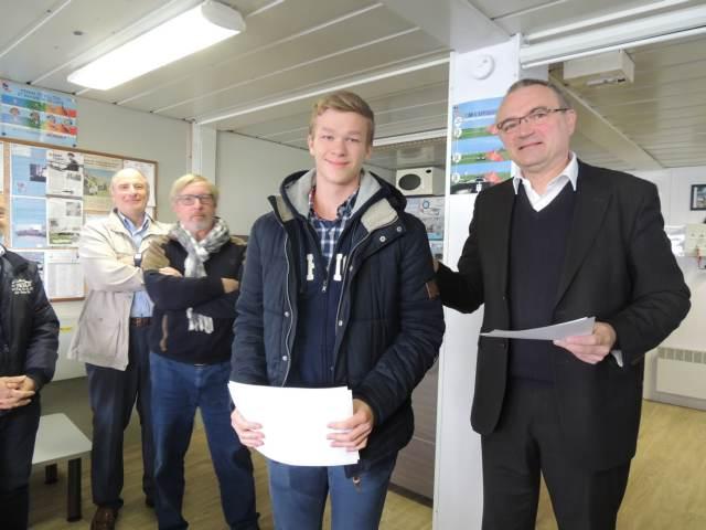 remise des diplomes bia  brevet d u0026 39 initiation aeronautique