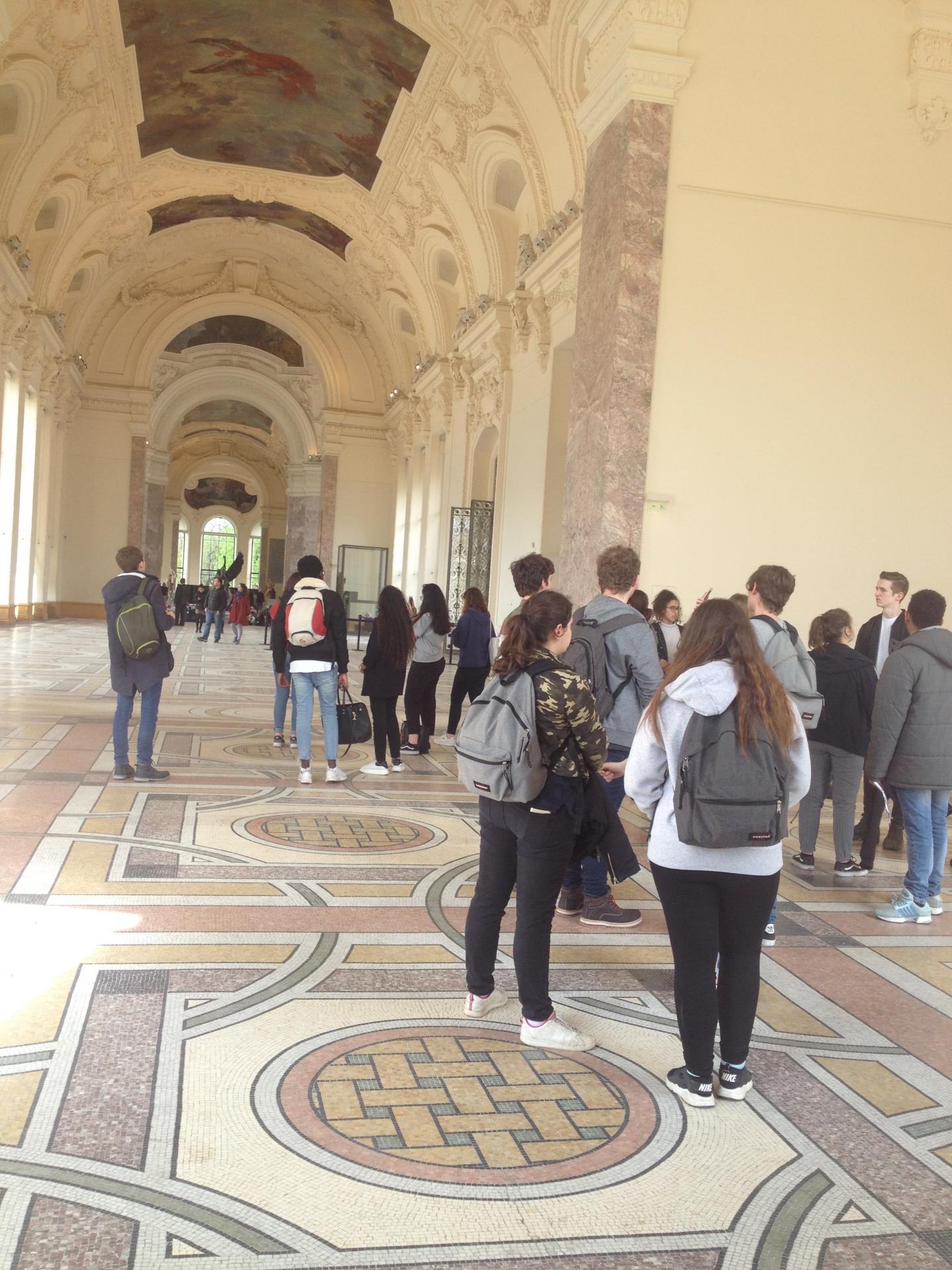 la nef du Petit Palais