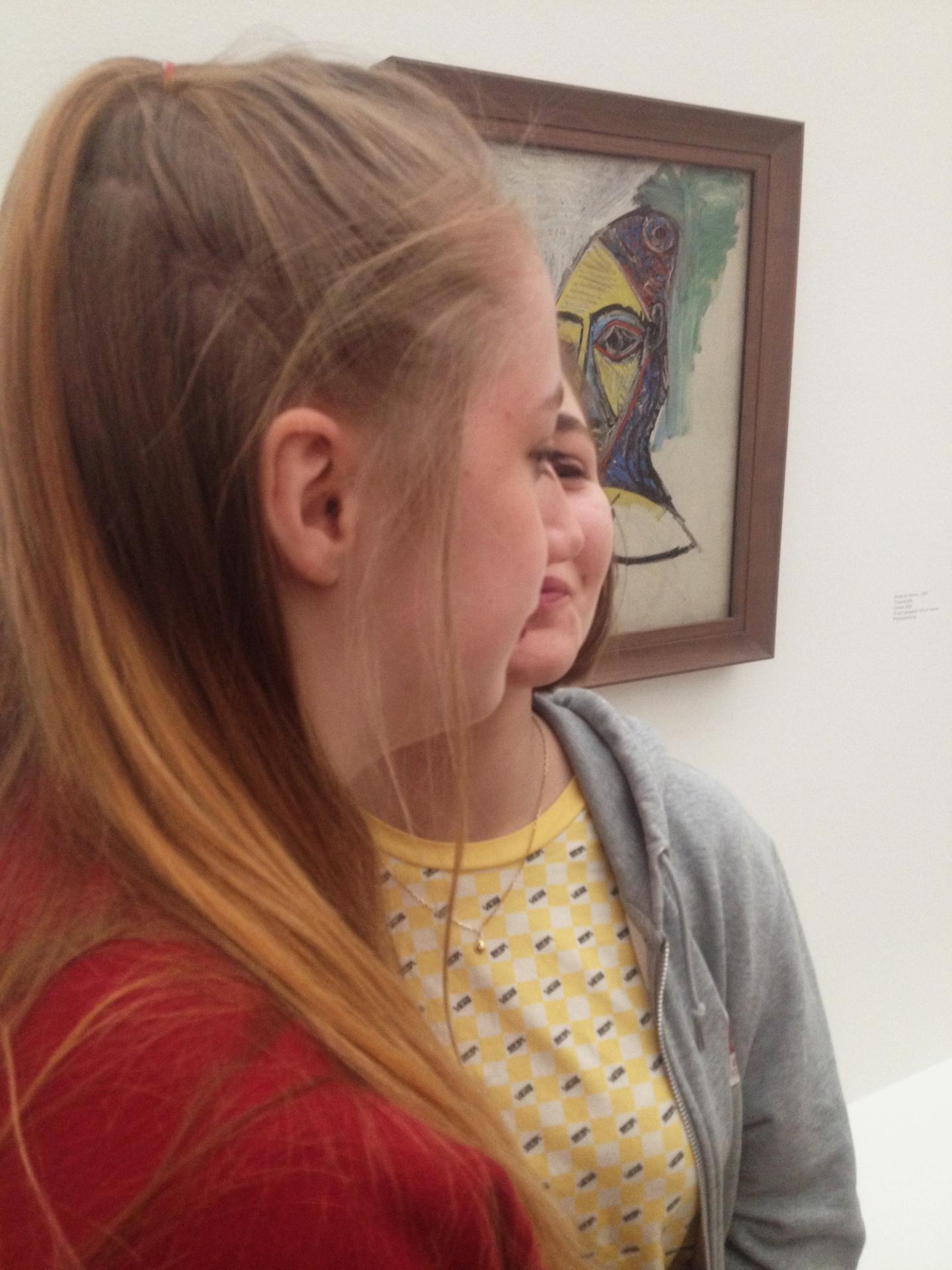 Picasso par Lisa et Laureen
