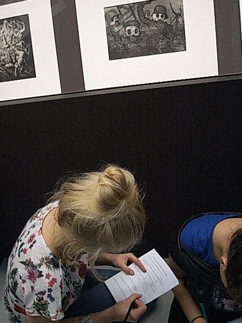 Travail sur une gravure d'Otto Dix