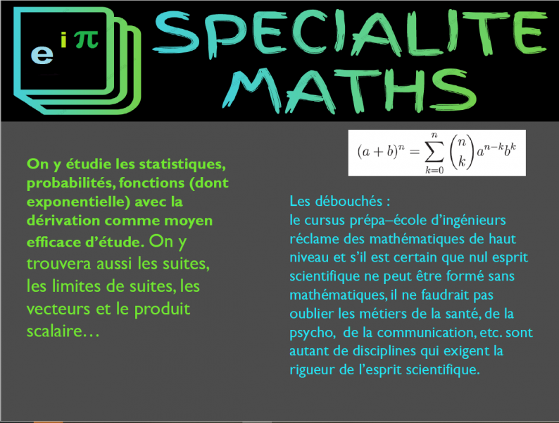Specialitesmaths